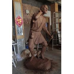 青铜材质现代人物铜雕,兴达铜雕,天津现代人物铜雕图片