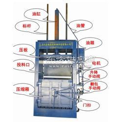 居民用电废品液压打包机 废纸纸箱压缩捆包机图片