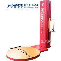 供应ROBOPAC罗博派克五金半自动阻拉伸托盘缠绕包装机图片