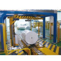 简介ROBOPAC摇臂式伸缩膜裹膜机专注设计图片