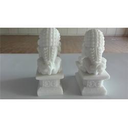 汉白玉狮子|重庆公墓汉白玉狮子|石雕定做(优质商家)图片