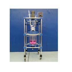 200L双层玻璃反应釜、南京炳辉仪器仪表公司、双层玻璃反应釜图片