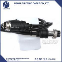 车载监控线7pin航空插头厂家厂家直销建利线材图片