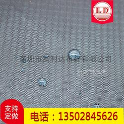 210D双线格牛津布 210D三分格五分格防水布 涂层PU懒人沙发布图片