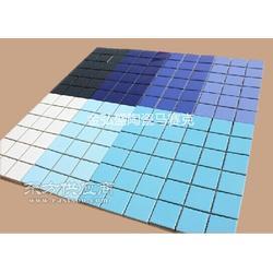 园林装饰游泳池工程专用水晶马赛克瓷砖