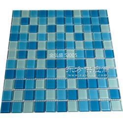 水晶玻璃马赛克泳池图片