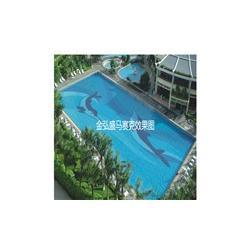 陶瓷马赛克花园泳池拼图图片