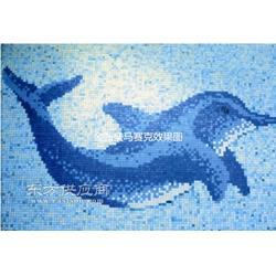 别墅泳池拼图陶瓷马赛克瓷砖图片