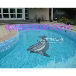 销售游泳池拼图陶瓷水晶马赛克图片
