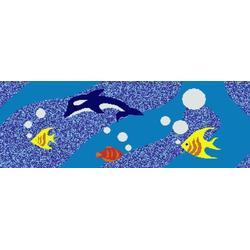 供应拼图陶瓷马赛克 泳池马赛克优惠图片