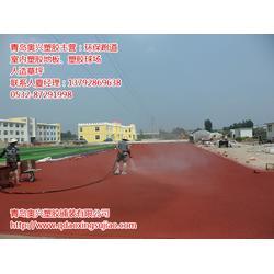 奥兴塑胶铺装,潍坊塑胶跑道,塑胶跑道建设图片