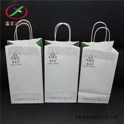 牛皮纸手提袋 节能环保手提纸袋 定制厂家图片