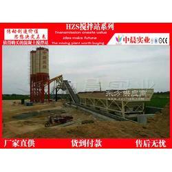 一套小型混凝土搅拌站生产线包括哪些设备图片