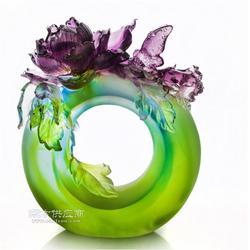 平安富贵苹果摆件 富贵苹果 创意琉璃工艺品 招财喜庆家居装饰