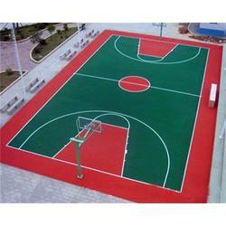 硅PU篮球场施工队、广西硅PU篮球场、津宇体育器材图片