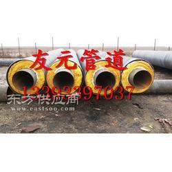 预制聚氨酯保温钢管生产厂家-供暖用聚氨酯保温钢管现货图片