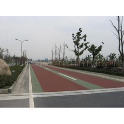 保路威环保材料_彩色路面_彩色路面材料图片