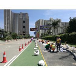 保路威環保材料,東莞彩砂防滑路面,彩砂防滑路面工程圖片