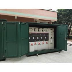 哈尔冰电缆分支箱地基图-安浩电气(在线咨询)电缆分支箱图片