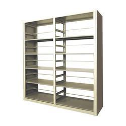 綦江钢制书架、越航办公家具厂、双面钢制书架图片