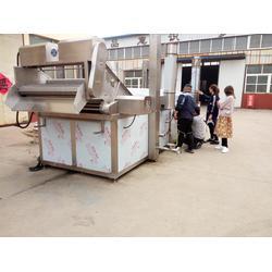 诸城卓尔机械|广东龙虾油炸流水线|龙虾油炸流水线代理图片