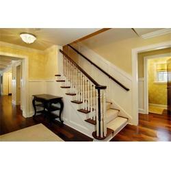 实木楼梯|镇江柏雅居木业|实木楼梯保养图片