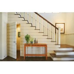 实木楼梯、实木楼梯定制、镇江柏雅居木业(优质商家)图片