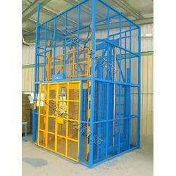 单桅柱铝合金高空作业车升降机报价图片