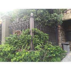 贵州围栏_万斯泰铝艺别墅建材_铝艺围栏图片