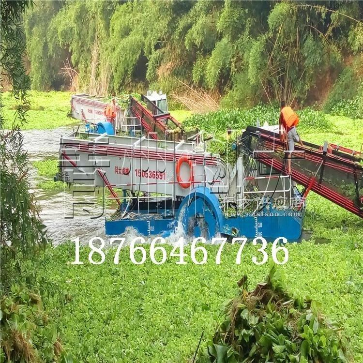 好用的水草清理机械处理水葫芦 普者黑多功能河道保洁设备