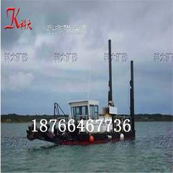 污泥脱干清淤船改装 浅海环保绞吸挖泥机械图片