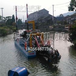 6寸水库清淤挖泥设备 尾矿库淤泥清理挖泥船图片