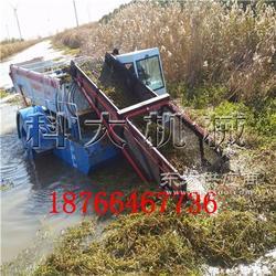 水草收割打捞船 河草收割收集机械图片