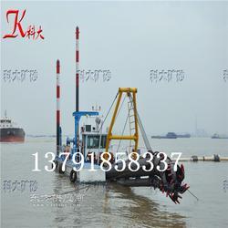 8寸绞吸式挖泥船 性能好的疏浚河道清淤机械图片