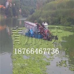 水上割草船可打捞海草的清理设备图片