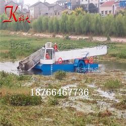 全自动割草船 漂浮水草打捞船 环保河道打捞水草船图片