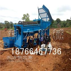 100型可移动淘金设备 大型移动式淘金机械 沙金矿移动选金车图片
