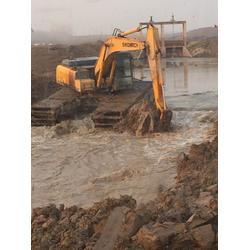 水上挖机租赁-新盛发水上挖掘机公司-水上挖机租赁费用图片