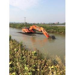水陆两用挖掘机租赁公司|新盛发水上挖掘机租赁图片