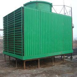 玻璃钢冷却塔凉水塔、城区玻璃钢冷却塔、华强科技(查看)图片