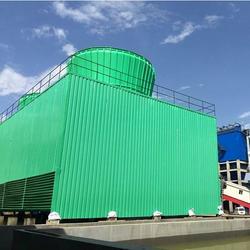 50t玻璃钢冷却塔|华强科技(在线咨询)|玻璃钢冷却塔图片