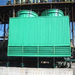 玻璃钢冷却塔、玻璃钢冷却塔、华强科技(优质商家)图片