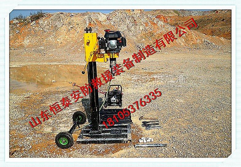 户外取芯勘探钻机野外探矿钻机图片