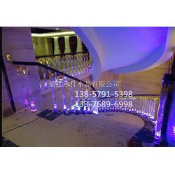 永佳水晶现货供应 水晶楼梯扶手厂家-水晶楼梯扶手图片