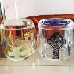 永佳水晶工艺品 水晶骨灰罐厂家-甘肃水晶骨灰罐图片