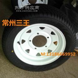 195/50R13拖车轮胎及钢圈总成 三王轮胎图片