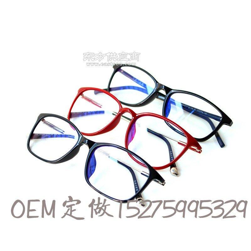 负离子高清晰眼镜 六合一功能防护眼镜 防蓝光近视辐射电脑平光镜图片