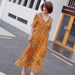 新款夏装女长裙,女长裙,泓发服饰图片