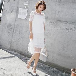 雪纺长裙搭配,泓发服饰(在线咨询),长裙图片