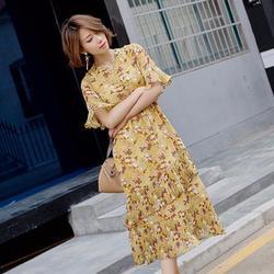 闵行区连衣裙 泓发服饰 碎花连衣裙图片